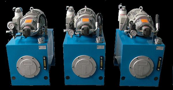 unidades de potencia hidraulica a la medida