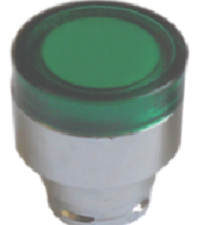 botón rasante lampara iluminado para gabinete