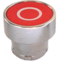 botón rasante para gabinete