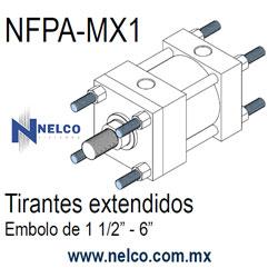 piston hidraulico NFPA fabricación