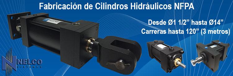 cilindros hidraulicos NFPA fabricación